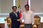 Phó Thủ tướng Vũ Đức Đam hội kiến Phó Tổng thống Myanmar