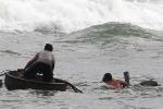 Sóng đánh lật thuyền, một ngư dân Hà Tĩnh thiệt mạng