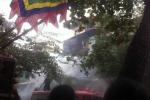 Cháy lớn trên phố Hàng Bồ - Hà Nội