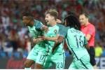 Ronaldo kiến tạo cho Nani ghi bàn