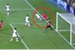 Công nghệ mổ băng làm 'biến mất' bàn thắng thứ 2 của U20 Hàn Quốc