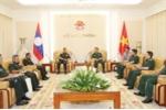 Tổng tham mưu trưởng Quân đội nhân dân Lào thăm Việt Nam