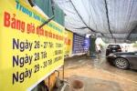 Dịch vụ rửa xe tăng giá 300% ngày cận Tết