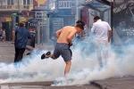 Tuyển Anh xuất trận, cảnh sát Pháp căng mình chống hooligan