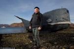 Kinh ngạc cựu chiến binh 74 tuổi vượt Đại Tây Dương chỉ với tàu tự chế
