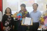'Chàng trai vàng' Olympic Toán quốc tế được thưởng 'khủng'