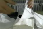Tận mục quy trình sản xuất khăn giấy khiến người xem 'mắt tròn mắt dẹt'