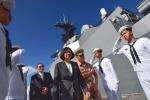 Đài Loan ngang nhiên đưa tàu chiến bảo vệ quanh đảo Ba Bình