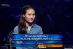 Clip: Cô gái được mệnh danh 'Thánh nhọ' trong Ai là triệu phú