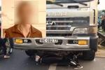 Xe tải đi ngược chiều cố tình lấn làn, đâm chết 2 người ở Bắc Giang: Tài xế vừa ra tù