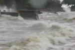 Cập nhật bão số 3 tại Hải Phòng: Mưa lớn, sóng biển đánh dữ dội