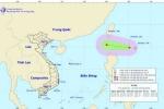 Áp thấp nhiệt đới xuất hiện gần Biển Đông