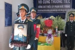 Rơi máy bay ở Phú Yên: Nghẹn nghèo tiễn đưa phi công Phạm Đức Trung