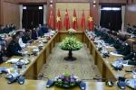 Đại tướng Ngô Xuân Lịch hội đàm cùng Phó Chủ tịch Quân ủy Trung ương Trung Quốc
