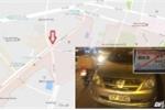 Xe gắn thẻ ra vào Bộ Công an đậu xe ngược chiều giờ cao điểm: CSGT nói gì?