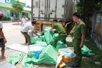 Video: Cận cảnh 3 tấn nội tạng bốc mùi trong thùng xe container ở Hà Tĩnh