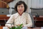 Đề nghị miễn nhiệm Thứ trưởng Bộ Công thương Hồ Thị Kim Thoa