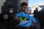 Nghi vấn tấn công bằng khí gas ở Syria, hàng chục người chết