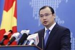 Việt Nam phản đối mạnh mẽ Trung Quốc tập trận ở Biển Đông