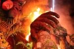 Clip: Toàn cảnh 'biển lửa' thiêu rụi sân khấu hơn 1 tỷ đồng ra mắt phim 'Kong: Skull Island'