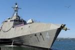 Tàu tác chiến ven bờ Hải quân Mỹ đến cảng Cam Ranh