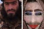 Chiến binh IS tô son, mặc áo ngực, đóng giả phụ nữ để trốn khỏi Mosul