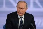Trực tiếp: Tổng thống Nga Putin bắt đầu cuộc họp báo thường niên 2015