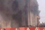 Video: Khu đô thị An Hưng - Hà Nội bốc cháy ngùn ngụt