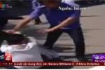 Video: Bảo vệ đánh khách trọng thương