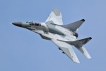 Video: MiG-29 bốc cháy ngùn ngụt khi cất cánh tại Belarus