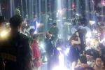 Hàng trăm cảnh sát bao vây quán bar ở Sài Gòn