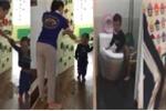 Cô giáo dùng dép đánh liên tiếp vào đầu trẻ mầm non: Chủ tịch Hà Nội yêu cầu xử nghiêm