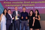 FrieslandCampina Việt Nam giành 5 giải thưởng SMARTIESTM Việt Nam 2016