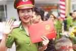 Hot girl Cảnh sát trong 'Chạm tay vào nỗi nhớ' khoe nụ cười tỏa nắng