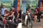 Đánh vợ chảy máu đầu trên phố Hà Nội: 'Hành xử như cầm thú vô đạo, không có tư cách con người'