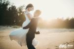 Ảnh cưới lãng mạn của chiến sỹ cảnh sát Hà Tĩnh