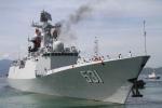 3 chiến hạm hải quân Trung Quốc ghé thăm cảng Cam Ranh