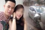 Diễn viên Hiệp Gà lái xe chở vợ mang bầu gây tai nạn