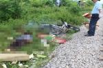 Lái xe băng qua đường sắt, người đàn ông bị tàu tông chết