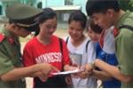 Hàng trăm sinh viên Học viện An ninh hào hứng tham gia tiếp sức mùa thi