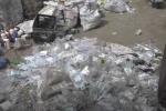 Sự thật kinh hoàng trong cơ sở tái chế rác thải y tế bất hợp pháp