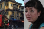 Cháy lớn ngay dưới nhà NSƯT Chiều Xuân ở Nguyễn Thái Học