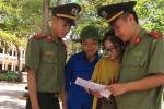 Những chiến sỹ công an Nghệ An 'đội nắng' tiếp sức mùa thi