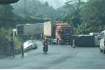 Xe container gây tai nạn liên hoàn, 5 người thương vong
