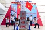 Hơn 500 học sinh TP.HCM tưởng niệm sự kiện Gạc Ma