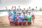 Ảnh kỷ yếu quần đùi hoa rực rỡ sắc màu của học sinh Thanh Hóa