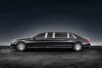 Vẻ đẹp Maybach S600 Pullman Guard: Siêu xe dành cho yếu nhân