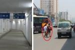 Chê hầm đi bộ nghìn tỷ, dân Thủ đô vô tư 'cắt mặt tử thần'