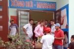 Giải cứu 2 cô gái bị lừa bán vào tiệm massage trá hình