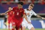 Hòa U20 New Zealand, U20 Việt Nam giúp bóng đá Việt đỡ 'bệnh run'